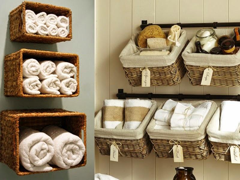 Originálne a jednoduché nápady ako urobiť poriadok v kúpeľni!