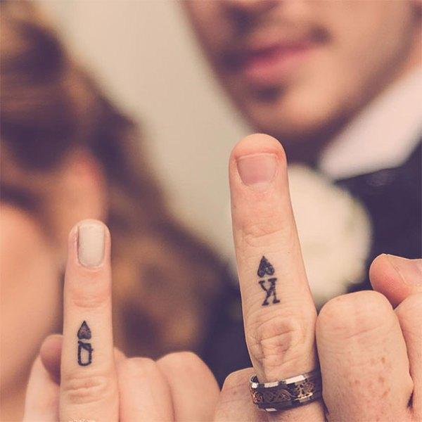 Namiesto svadobných prsteňov tetovania. Skvelý nápad ako spečatiť lásku!