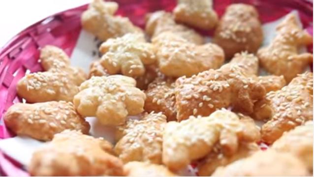 Syrovo sezamové zvieratká podľa Lucy! Pretože sviatky nie sú len o sladkom pečive