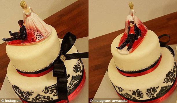 Rozvodové torty, ktoré vás dostanú. Niektoré sú poriadne desivé…