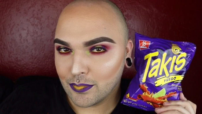 Keď tvojou inšpiráciu na make-up je balíček chipsov!