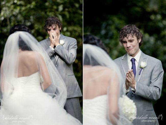 Nádherné okamihy, pri ktorých muži uvideli svoje nevesty prvýkrát!