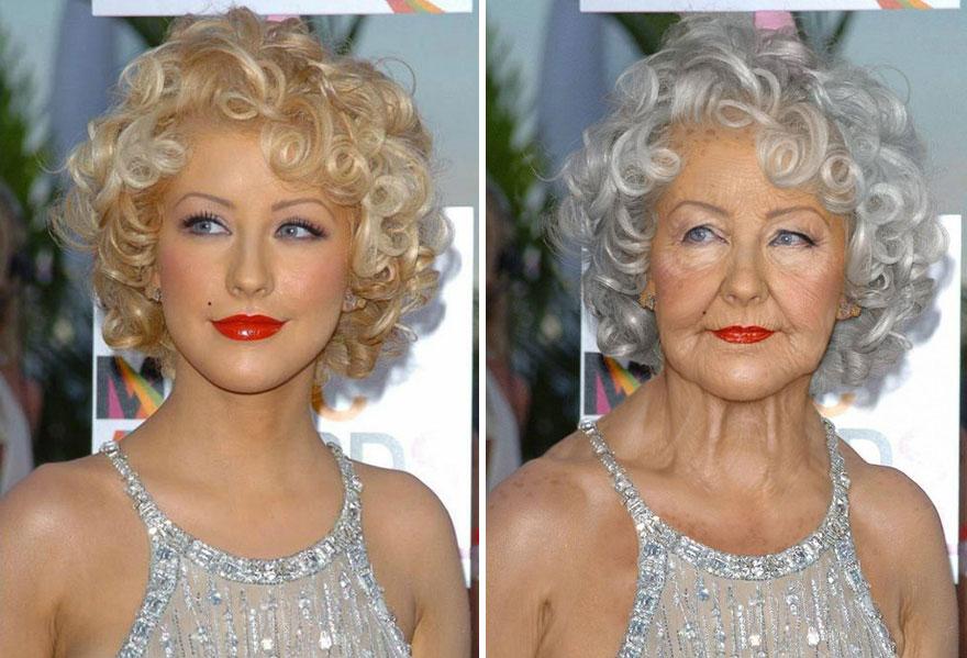 Ako budú vyzerať celebrity v starobe? Toto je jedna z predstáv