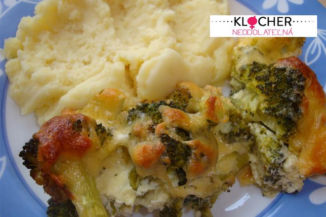 Rýchly obed: Zapekaná brokolica
