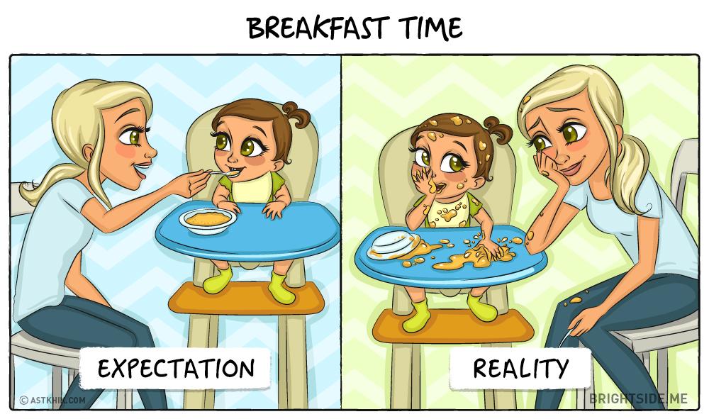 Ako sa zmení váš život, keď sa stanete rodičmi. Očakávania verzus realita!