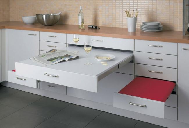 20 jedinečných nápadov pre malé kuchyne