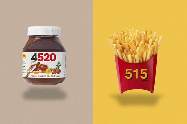 Logá produktov vystriedali etikety o množstve kalórií! Žeby nový marketing?