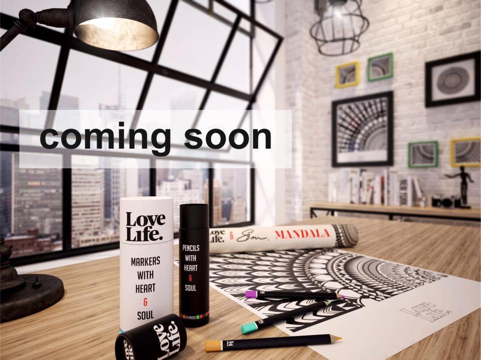 Nová slovenská značka LoveLife spája antistresové mandaly a inovatívny dizajn