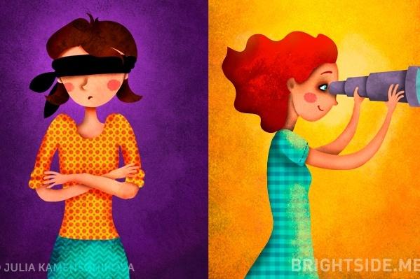 Skutočný rozdiel medzi negatívnym a pozitívnym postojom k životu