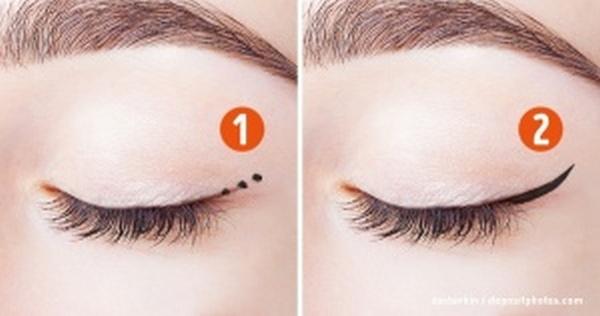 11 spôsobov, ako si namaľovať očnú linku