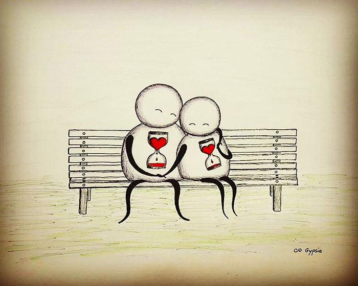 Láska vie aj bolieť a poriadne potrápiť. Nasledujúce obrázky zachytávajú jej temnú stránku