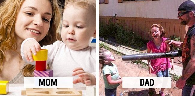 Týchto 10 vecí robia mamy a otcovia úplne inak. Súhlasíte?