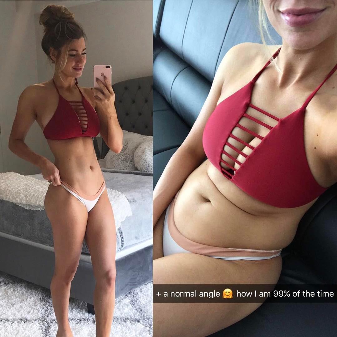 Ako vyzerajú fitness modelky, keď práve nepózujú? Žiadne ploché bruško