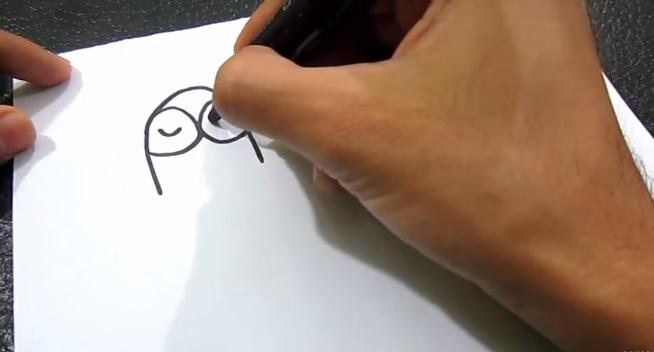 Umelec nakreslil nádhernú kresbu zo slova mama. Z výtvoru vám sánka padne dole!