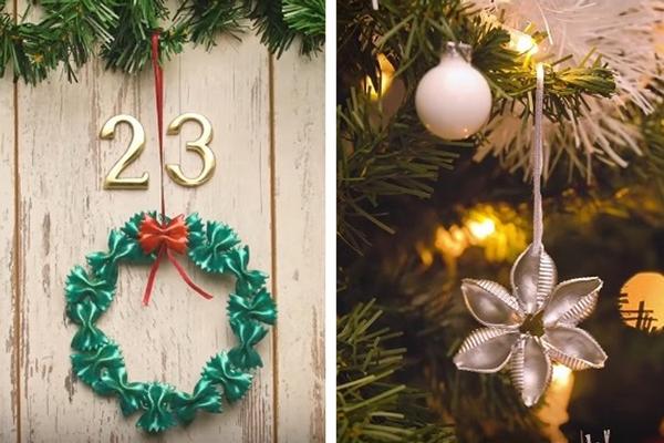 DIY: Vykúzlite si vianočnú atmosféru vďaka cestovinám. Takéto krásne ozdoby si dokážete vyrobiť doma