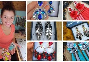 Pozrite si prekrásne handmade náušnice, ktoré vyrába doma šikovná šperkárka Šárka