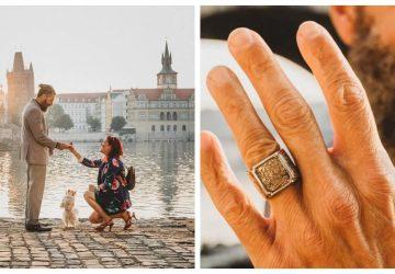 Známa blogerka 2 roky plánovala zásnuby pre priateľa. Opýtala sa až v Prahe