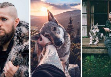 Honza a Espen sa túlajú nádhernou prírodou svojej domoviny v spoločnosti svojich psov. Ich fotky obdivuje celý svet