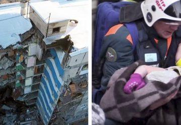 Len 11-mesačné bábätko vytiahli včera záchranári z trosiek domu