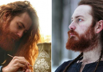 Keramikár Tibor: Písali mi ľudia z Argentíny, Brazílie aj Chile a začali ma volať slovenský viking