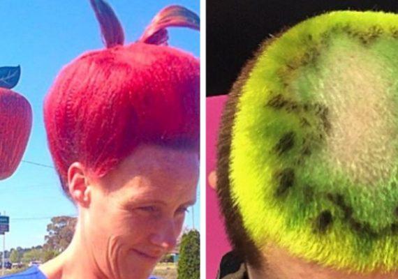 Šialené účesy plné šťavy: ľudia premenili svoje vlasy na ovocie. Hot or not?
