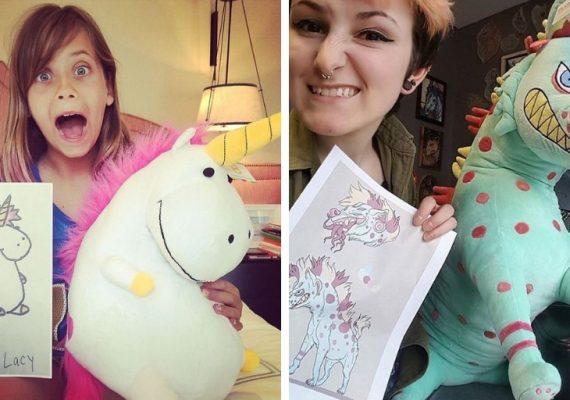 Spoločnosť mení postavičky z detských kresbičiek na roztomilé plyšáky. Myšlienka sa páči nielen deťom