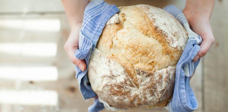 Jednoduchý domáci chleba bez miešania pre začiatočníkov